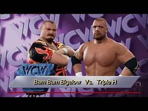 WWE 2K17 (Xbox One) Bam Bam Bigelow vs Triple H.