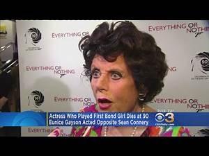 Eunice Grayson, First Bond Girl, Dies At 90