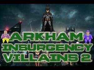 Batman Arkham Insurgency Leaked Villains Part 2