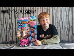 wwe kids magazine free gifts review #7
