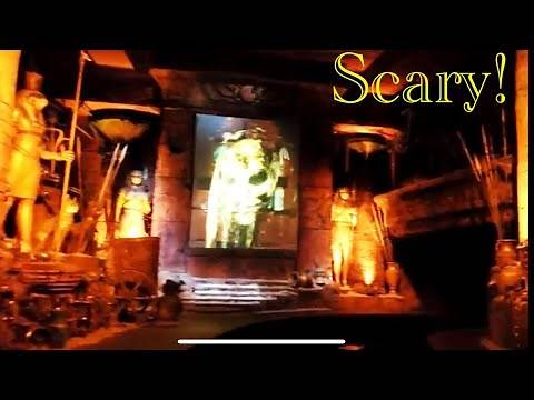 2018 Revenge of the Mummy – The Ride POV (Hollywood Universal Studios)