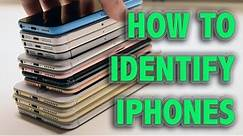 How to Identify every iPhone - All iPhone Models
