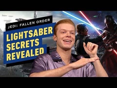Cameron Monaghan Reveals Secrets of Cal's Lightsaber in Star Wars Jedi: Fallen Order