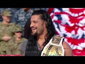 FULL MATCH: The Shield vs. Samoa Joe, Cesaro & Sheamus | WWE Tribute To The Troops 2017