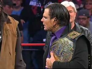 Jeff Hardy's New TNA Immortal Title Also Features a Argument