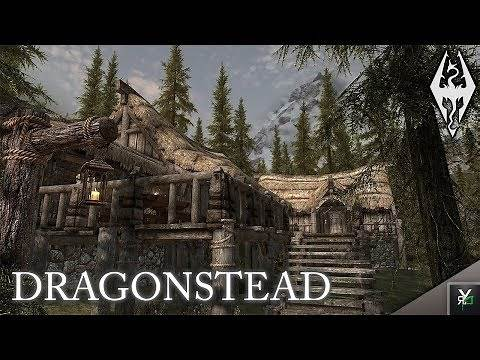 DRAGONSTEAD: Player Home Mod- Xbox Modded Skyrim Mod Showcase