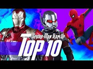 Top 10 MCU Action Scenes + Spider-Man & Ant-Man Team Up in Phase 4