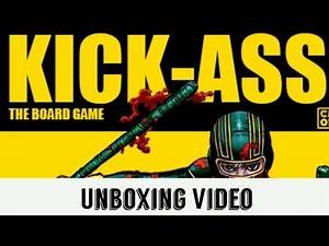 Unboxing Kick-Ass: The Board Game