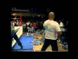 CRAZY JAPANESE PRO WRESTLING TEXAS DEATH MATCH FMW - GOTO ONITA 1990
