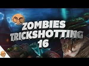 Zombies Trickshotting Ep. 16 (Bow & Arrow Teleport Pad Trickshot!)