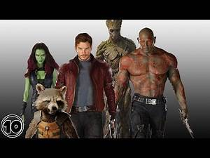 Top 10 Guardians Of The Galaxy Surprising Facts