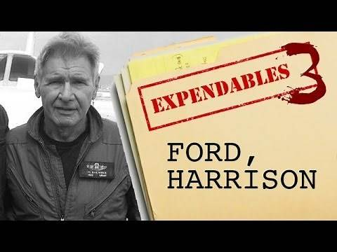 The Expendables 3 : Harrison Ford - Beyond The Trailer