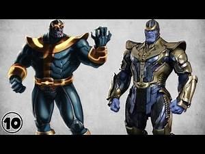 Top 10 Thanos Shocking Facts