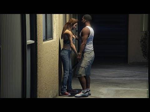GTA 5 - Girlfriend Mission! (Franklin and Liz)