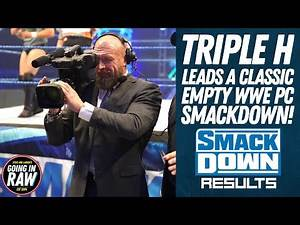 Triple H Brings The Fun To WWE PC Smackdown | WWE Smackdown Review & Full Results | Going In Raw