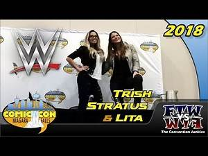 Trish Stratus and Lita (WWF / WWE) Niagara Falls Comic Con 2018 Full Panel