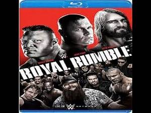 WWE Royal Rumble 2015 Bluray pickup!!!!!!! (Epic)