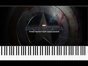 """Captain America : The Winter Soldier """"Gender"""" Trailer 2 - piano sheet music"""