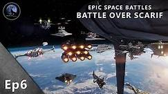EPIC Space Battles | Battle over Scarif | Star Wars Rogue One