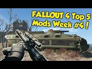 Fallout 4 Top 5 Mods of the Week #4 (Xbox One Mods)