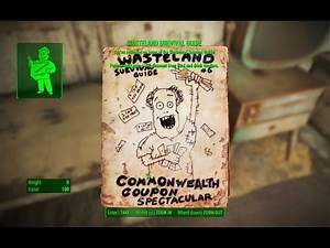 Wasteland Survival Guide Magazine - Nahant Oceanological Society - Fallout 4