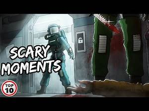 Top 10 Scary Among Us Moments