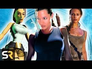 Tomb Raider: The Evolution of Lara Croft In Games And Movies