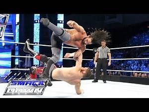 Sami Zayn vs. Seth Rollins: SmackDown, June 23, 2016