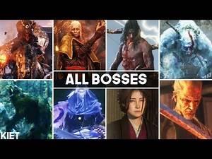 Sekiro Shadows Die Twice - All Bosses (Main Story + Bad Ending)