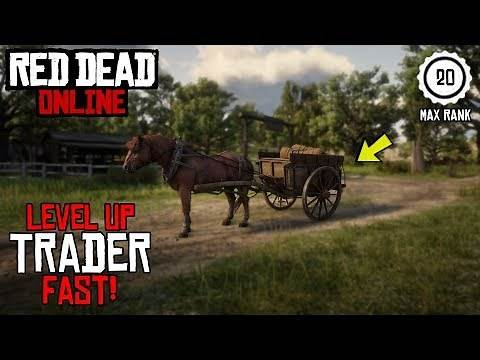 *FASTEST* way to Level Up the TRADER ROLE in Red Dead Redemption Online! - Trader Role Simple Guide