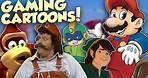 WEIRD VIDEO GAME CARTOONS! - Diamondbolt