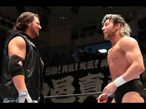 NJPW Wrestle Kingdom | AJ Styles vs Kenny Omega WWE 2K18