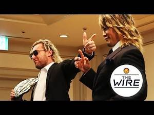 The Wire: IWGP Heavyweight Championship Omega vs Tanahashi at WK13