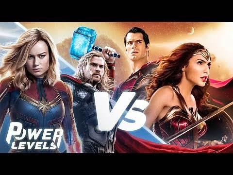 Marvel vs DC | Power Levels