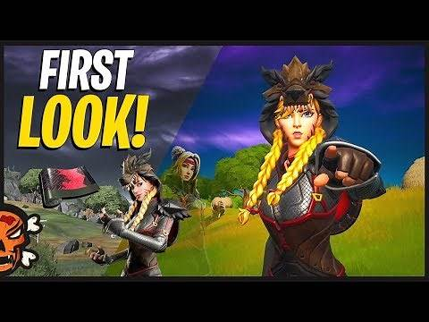 GRIM FABLE First Look & Gameplay (Edit Styles) | BIG BAD AXE | (Fortnite Battle Royale)