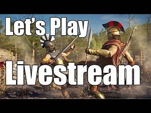 Assassin's Creed Odyssey - Let's Play Livestream #2