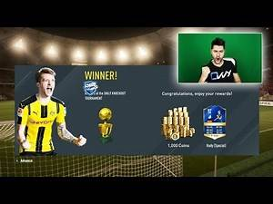 FIFA 17 WINNING TOTS TOURNAMENT ! AMAZING SQUAD TO WIN THE CUP !! 24th TOTS CARD
