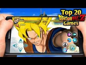 Best 20 New Dragon Ball Z Games For Android / iOS Download 2020