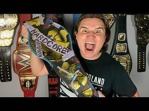 WWE Hardcore Championship Replica Unboxing!