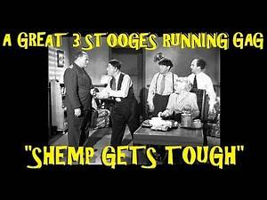 """""""Shemp Gets Tough"""": A Great 3 Stooges Running Gag"""