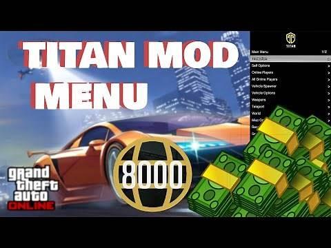 100% LEGIT* Titan Mod Menu PC GTA 5 OFFLINE/Online Working June 2020*