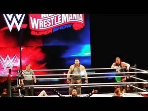 WWEoakland LiveEvent 8/2/2020 Raw SmackDown Super ShowDown2020