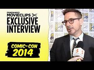 Robert Downey Jr. 'Avengers: Age of Ultron' Exclusive Interview: Comic-Con (2014) HD