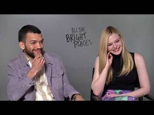 All The Bright Places interviews - Elle Fanning and Justice Smith