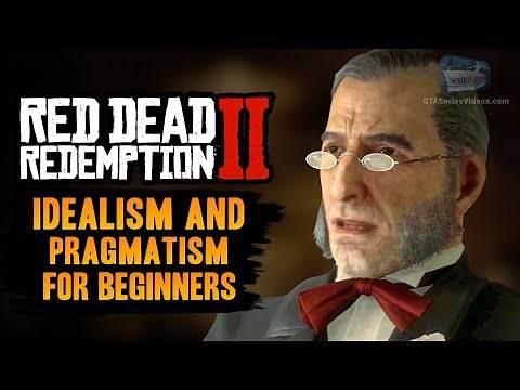 Red Dead Redemption 2 Stranger Mission - Idealism and Pragmatism for Beginners