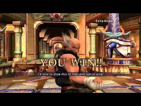 Soul Calibur 2 - Heihachi arcade mode