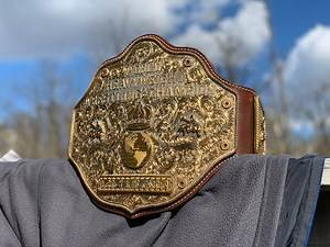 Classic Shields Fully Loaded Ultimate Crumrine Big Gold NWA/WCW World Heavyweight Championship Belt