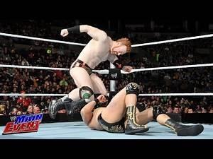 Sheamus vs. Alberto Del Rio vs. Dolph Ziggler - Intercontinental Title No. 1 Contender Match