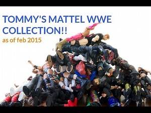 Tommy s WWE Mattel Figure Collection!!