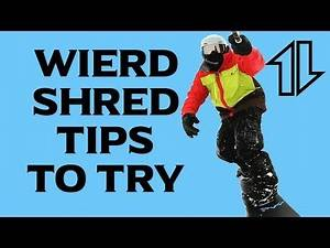 Snowboarding Tips for Progression in $hitty Weather
